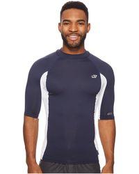 O'neill Sportswear - Premium Short Sleeve Rashguard (ocean/cool Grey/ocean) Men's Swimwear - Lyst