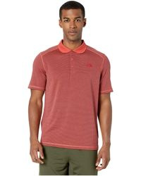 The North Face Mens Short Sleeve Ignition Polo Mid Grey MD