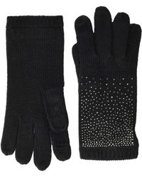 Calvin Klein - Ombre Crystal Studded Gloves (blush) Extreme Cold Weather Gloves - Lyst