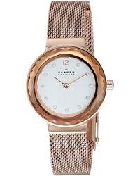 Skagen - Leonora Two-hand Watch Watches - Lyst