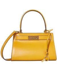 Tory Burch Lee Radziwill Petite Bag - Yellow