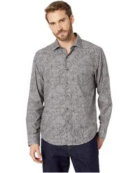 Tommy Bahama - Check Back Tropical Shirt (argent) Men's Long Sleeve Button Up - Lyst