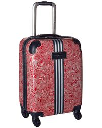 Tommy Hilfiger Th-683 Pineapple Palm 21 Upright Suitcase (red Floral) Suiter Luggage