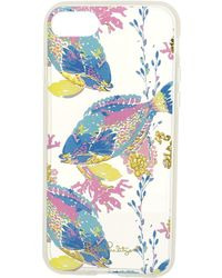 Lilly Pulitzer - Iphone 7 Transparent Cover (clear Sandstorm Tech) Cell Phone Case - Lyst
