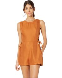 6d1bff953b9 RVCA - Freddie (ginger) Women s Jumpsuit   Rompers One Piece - Lyst