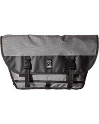 Chrome Industries - Citizen Messenger (gargoyle Grey) Messenger Bags - Lyst