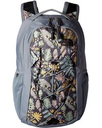 The North Face - Jester Backpack (mint Blue/greystone Blue) Backpack Bags - Lyst