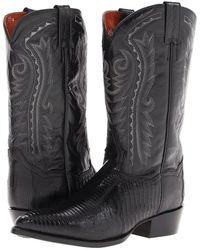 Dan Post - Raleigh (black) Cowboy Boots - Lyst