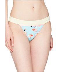 The Bikini Lab - Ready To Flamingo Banded Hipster Bottom (multicolored) Women's Swimwear - Lyst