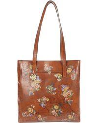 Patricia Nash Viana North/south Tote Handbags - Brown