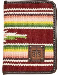 STS Ranchwear Buffalo Girl Serape Magnetic Wallet - Multicolor