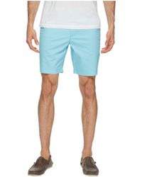 Original Penguin - P55 8 Basic Shorts (blue Topaz) Men's Shorts - Lyst