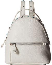 Sam Edelman Jess Pearls Studs Mini Backpack (bright White) Backpack Bags