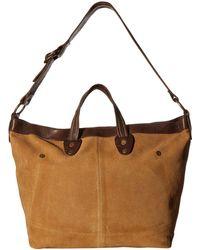 Free People - Vintage Distress Tote (taupe) Tote Handbags - Lyst