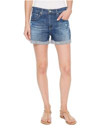 AG Jeans - Hailey In 11 Years Teal Sky (11 Years Teal Sky) Women's Shorts - Lyst