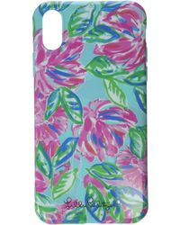Lilly Pulitzer Iphone X/xs Case - Blue