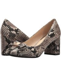 Cole Haan - Tali Bow Pump (roccia Snake Print Leather) Women's Shoes - Lyst