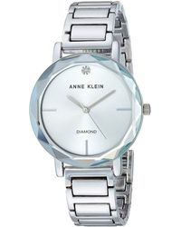 Anne Klein - Ak/3278 Diamond-accented Bracelet Watch - Lyst