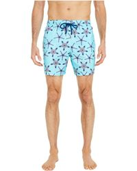 Vilebrequin Starfish Print Swim Shorts - Blue