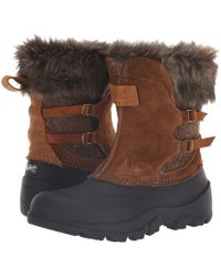 Woolrich - Fully Wooly Icecat Ii (black) Women's Cold Weather Boots - Lyst