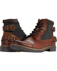 Steve Madden - Welkom Lace-up Boot - Lyst
