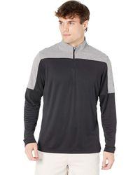 adidas Originals Lightweight Upf Primegreen 1/4 Zip Pullover Clothing - Gray