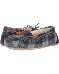 Minnetonka - Plaid Cally (red Plaid) Women's Slippers - Lyst