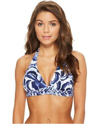 Tommy Bahama - Pansy Petals Reversible Halter Bikini Top - Lyst