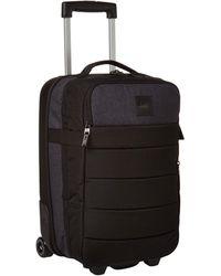 Quiksilver New Horizon Wheeled Cabin Suitcase - Black