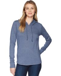 Alternative Apparel - Cozy Pullover Hoodie (admiral Blue) Women's Sweater - Lyst