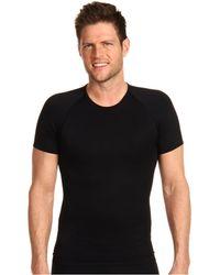 Spanx - Zoned Performance Crew Neck (black) Men's Underwear - Lyst