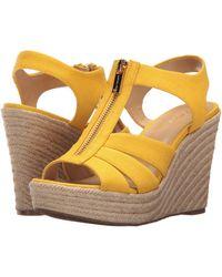 MICHAEL Michael Kors Berkley Wedge - Yellow