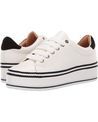 Joie Dabnis Stripe Sneaker - White
