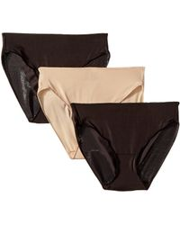 Miraclesuit - Tc Intimates By Miraclesuit Microfiber Hipster 3-pack - Lyst