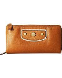 Lodis - Pismo Pearl Dana Double Zip (toffee) Handbags - Lyst