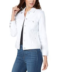 Liverpool Jeans Company Classic Jean Jacket - White