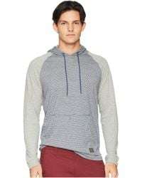Rip Curl - All In Long Sleeve Hooded (navy) Men's Clothing - Lyst