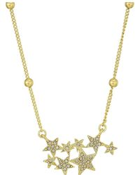 House of Harlow 1960 - Star Cluster Dainty Necklace - Lyst