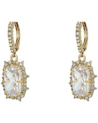 Alexis Bittar Crystal Drop Earrings - Metallic