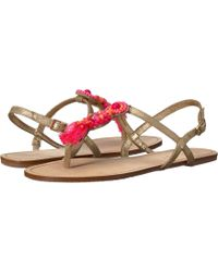 Lilly Pulitzer - Interchangeable Island Sandal - Lyst