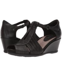 Earth - Primrose (black Tumbled Leather) Women's Shoes - Lyst