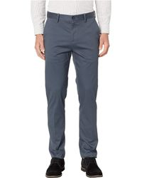 Perry Ellis - Slim Fit Total Stretch Resist Spill Chino (cobalt Grey) Men's Casual Pants - Lyst