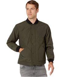 Filson Cotton Quilted Mile Marker Jacket In Black For Men Lyst