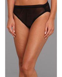 On Gossamer - Gossamer Mesh Hi-cut Brief 3012 (black) Women's Underwear - Lyst