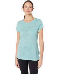 22faf58a Smartwool - Everyday Exploration Slub Short Sleeve Tee (black) Women's T  Shirt - Lyst