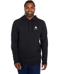 Burton Classic Mountain High Pullover Hoodie - Black