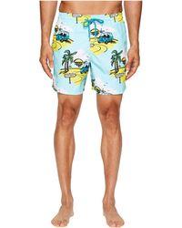 Vilebrequin - Moorea Mini Moke Swim Trunk (light Blue Multi) Men's Swimwear - Lyst