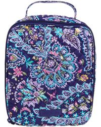 Vera Bradley Iconic Lunch Bunch, Signature Cotton - Red