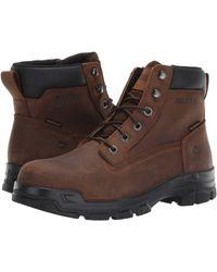 Wolverine Chainhand Steel Toe Wp Work Boots - Brown
