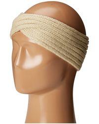 San Diego Hat Company Knh3444 Overlap Knit Headband - Natural